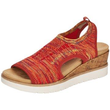 Remonte Komfort Sandale rot