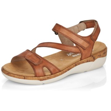 Remonte Komfort Sandale braun