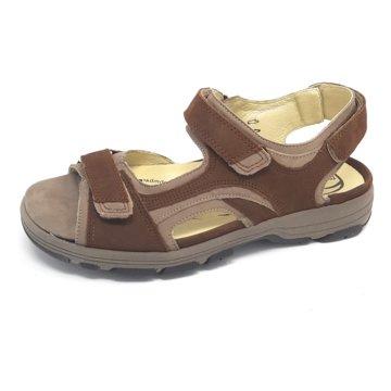 Waldläufer Komfort Sandale braun