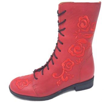 Brako Komfort Stiefel rot