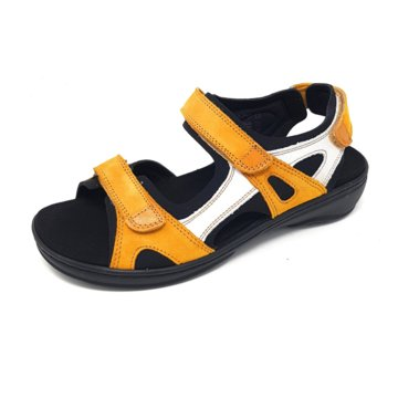 Fidelio Komfort Sandale gelb