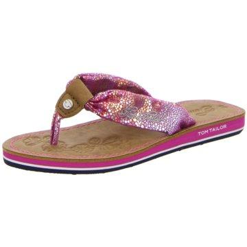Supremo Offene Schuhe rot
