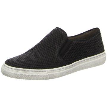 Schwarz Gabor Schuhe Slipper Black Damen Slipper