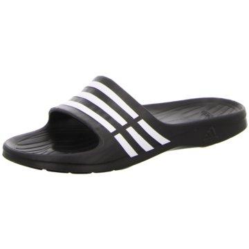 adidas BadelatscheDuramo Slide schwarz