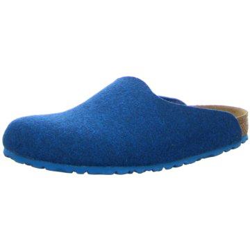Birkenstock Hausschuh blau
