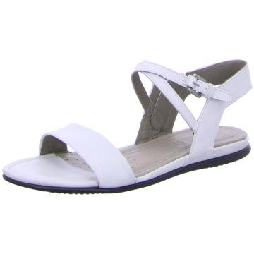 Ecco Sandale weiß
