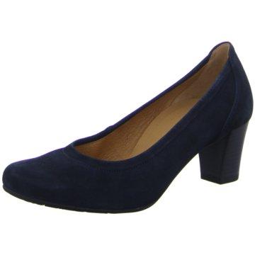 Gabor comfort Klassischer Pumps blau