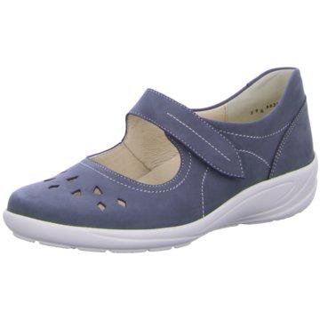 Semler Komfort SlipperBirgit - H blau