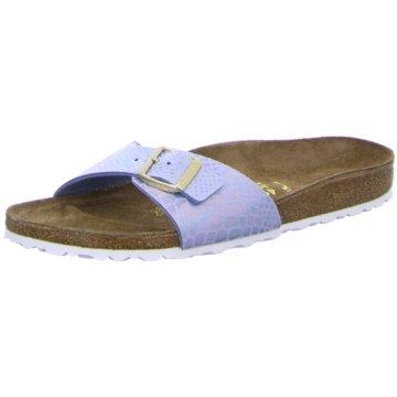Birkenstock Klassische PantoletteMadrid blau