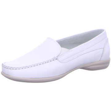 Sioux Komfort Slipper weiß