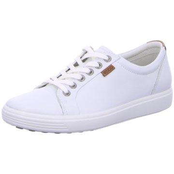 Ecco Sneaker LowSoft 7 weiß