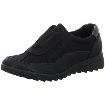 Hengst Footwear Komfort Slipper schwarz