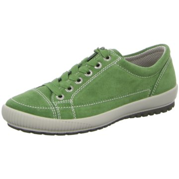 Legero Sportlicher Schnürschuh grün