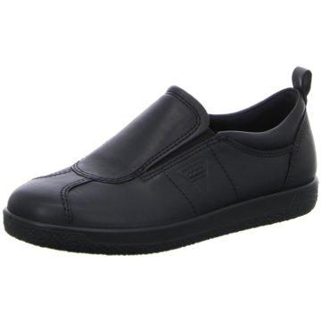 Ecco Komfort SlipperECCO SOFT 1 LADIES schwarz