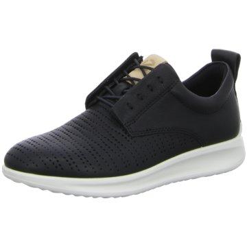 Ecco Sneaker LowECCO AQUET schwarz