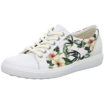 Ecco Sneaker LowECCO SOFT 7 LADIES weiß