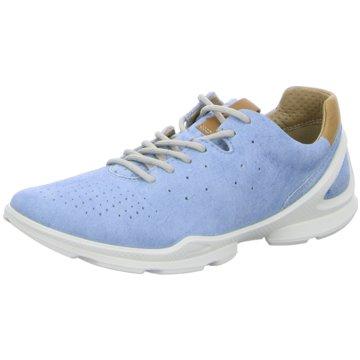 Ecco Sportlicher Schnürschuh blau