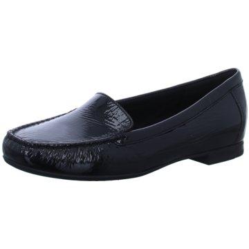 Sioux Komfort Slipper schwarz