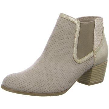Jana Chelsea Boot grau