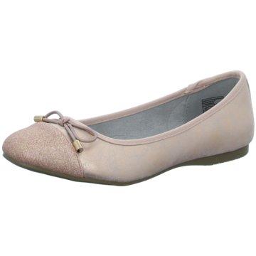Hengst Footwear Klassischer Ballerina rosa