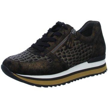 Gabor comfort Komfort SchnürschuhSneaker braun