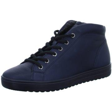 Ecco Komfort SchnürschuhFara blau
