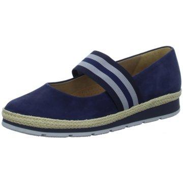 Gabor comfort Komfort Slipper blau