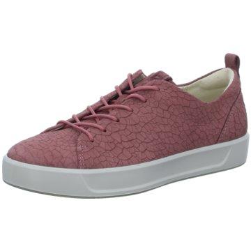 finest selection b42dd cb4e8 Ecco Sneaker Low rosa