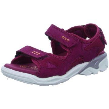 Ecco Offene Schuhe pink