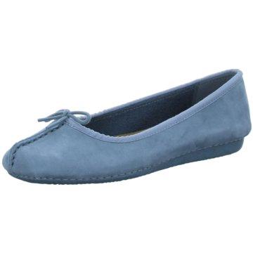 Clarks Bequeme SlipperFRECKLE ICE blau