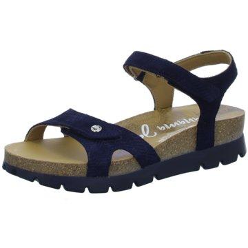 Panama Jack Plateau Sandalette blau