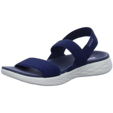 Skechers Komfort SandaleOn The Go blau