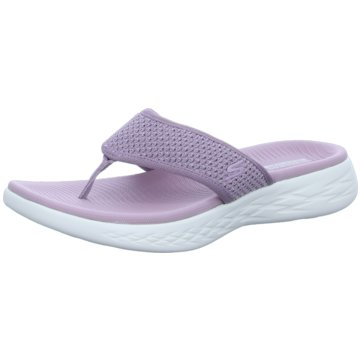 Skechers Pool Slides lila