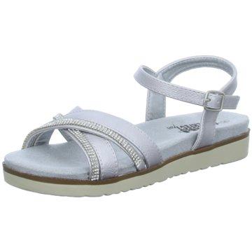 XTI Sandale silber