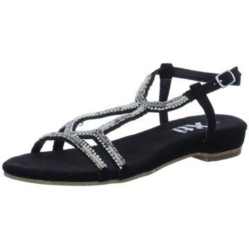 XTI Sandale schwarz