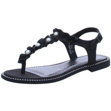 Bugatti Sandalette schwarz