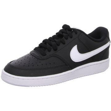 Nike Sneaker LowCOURT VISION LOW - CD5434-001 schwarz