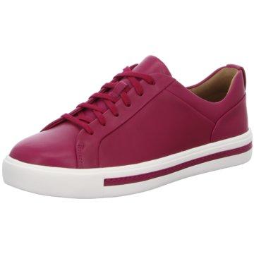 Clarks Sneaker Low lila