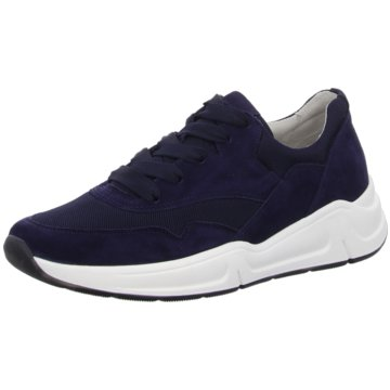 Gabor Sportlicher Schnürschuh blau