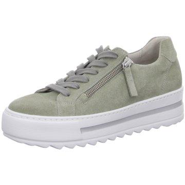 Gabor Top Trends Schnürschuhe grün