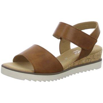 Gabor comfort Sandale braun