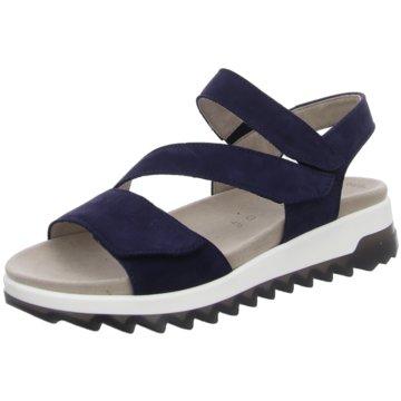Gabor comfort Plateau Sandalette blau