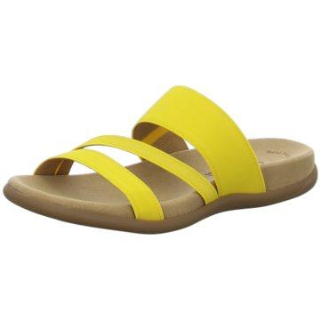 Gabor Komfort PantolettePantolette gelb