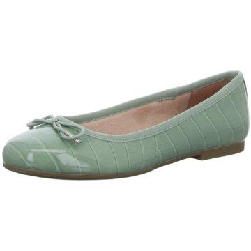 Tamaris Top Trends Ballerinas grün