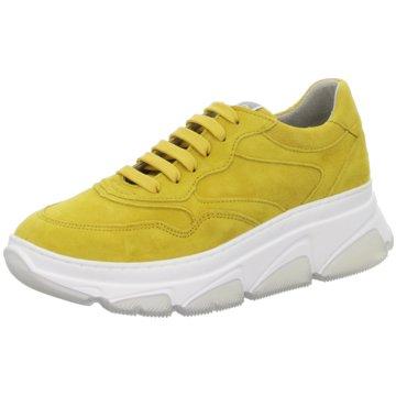 Tamaris Sportlicher Schnürschuh gelb