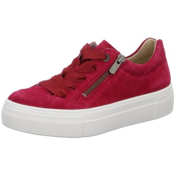 Legero Sportlicher SchnürschuhSneaker rot