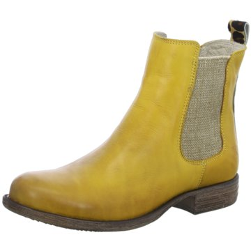 Only A Shoes Chelsea Boot gelb