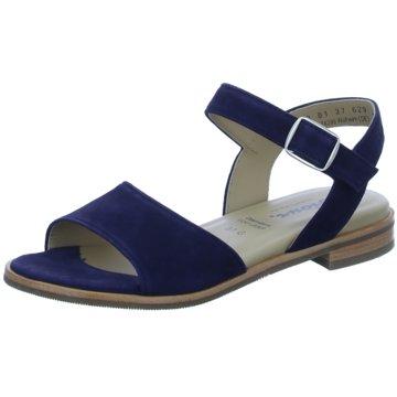 Sioux Bequeme Sandalen blau