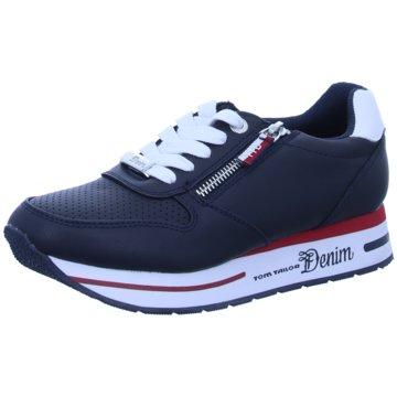 Supremo Plateau Sneaker blau