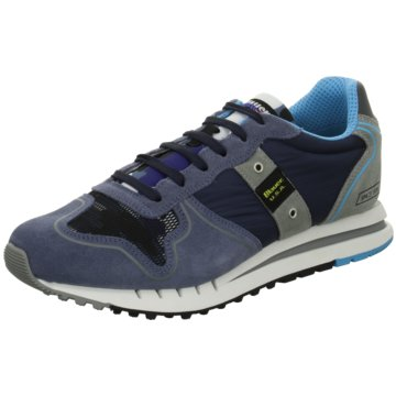 Blauer USA Sneaker Low blau